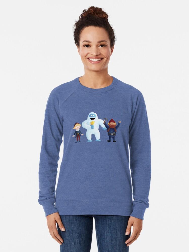 Alternate view of Yukon Bumble and Hermey Lightweight Sweatshirt