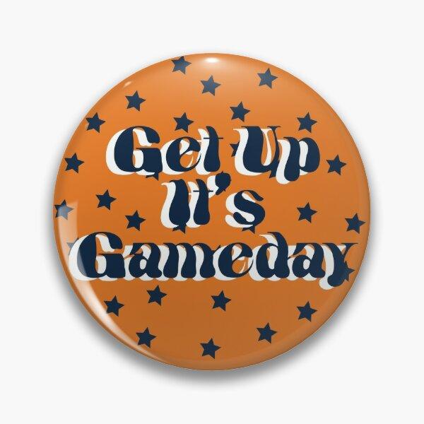 Auburn University Get Up It's Gameday Pin
