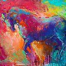 Vibrant Horse Stallion painting by Svetlana  Novikova