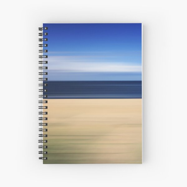 Beach Blur Spiral Notebook