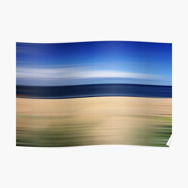 Beach Blur Poster