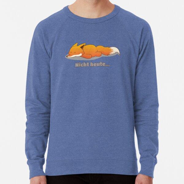 Nicht heute (Fuchs) - brainbubbles Leichter Pullover