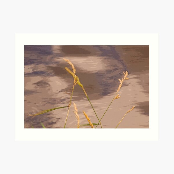 By The WaterSide  .. 2 Art Print