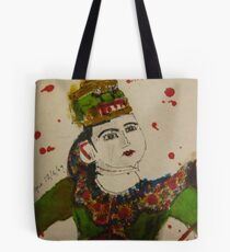 puppet with swords Tote Bag