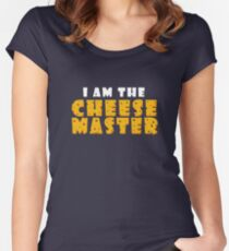 "RTExtraLife 2015 - ""I am the Cheese-Master"" Women's Fitted Scoop T-Shirt"