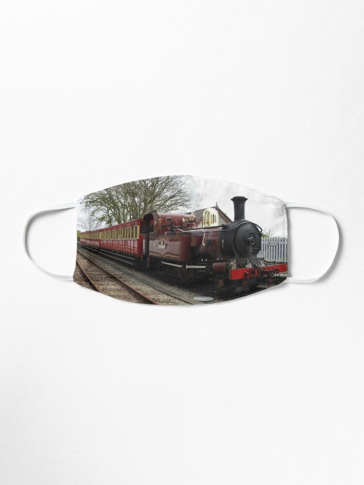 Alternate view of Isle of Man Steam Train Photo Mask