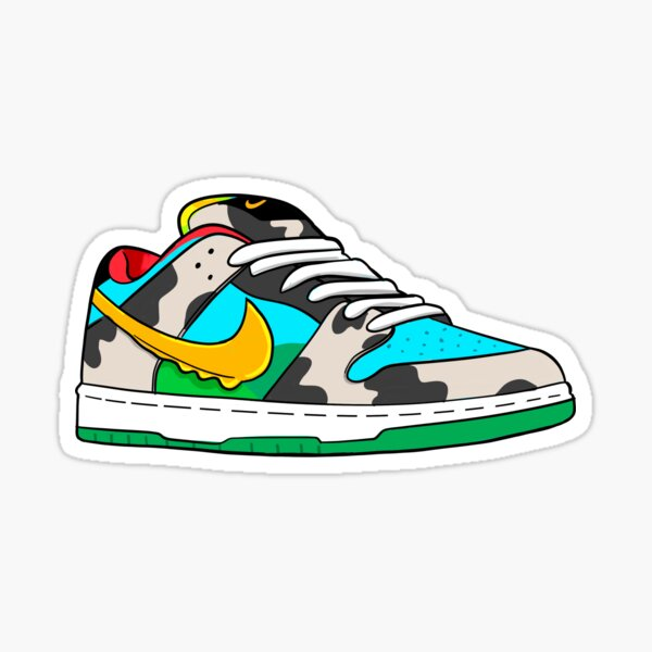Chunky Dunky SB Dunk Graphic  Sticker