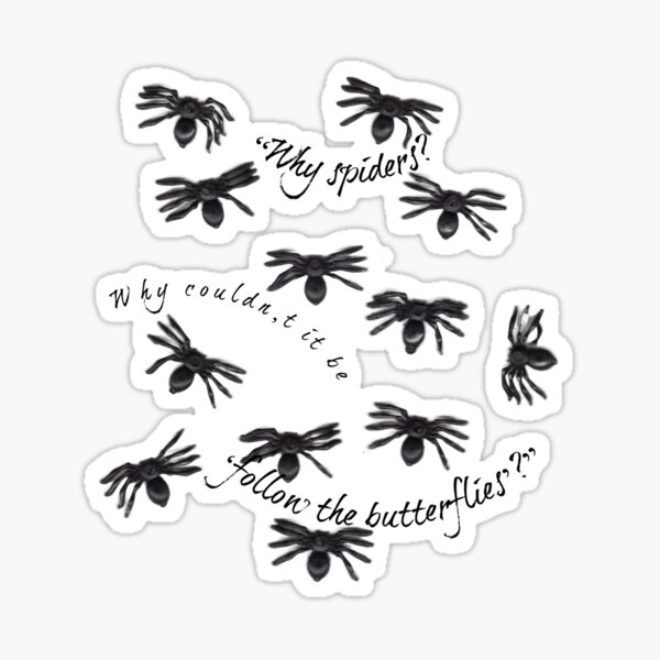 """Ron Weasley """"loves"""" spiders.  Sticker"""