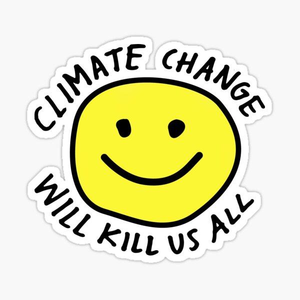 Stoppen Sie den Klimawandel Sticker