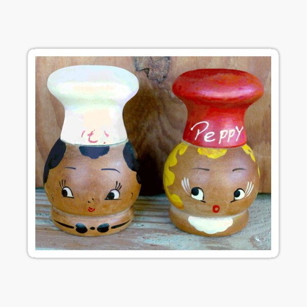 Mama's Salt and Pepper Shakers Sticker