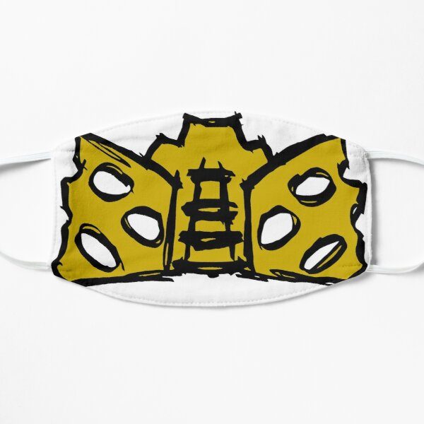Vahi Sketch (Gold) Flat Mask
