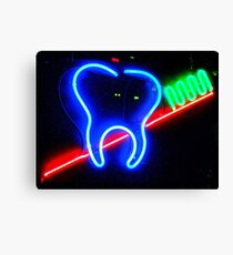 Brush YourTeeth Canvas Print