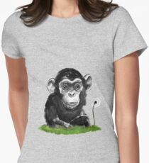 Monkey with Dandelion T-Shirt