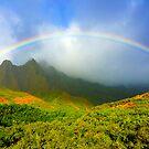Kalalau Rainbow by kevin smith  skystudiohawaii