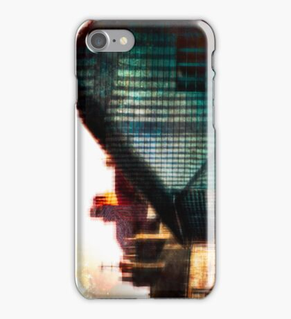 A Perfect Blue Building iPhone Case/Skin
