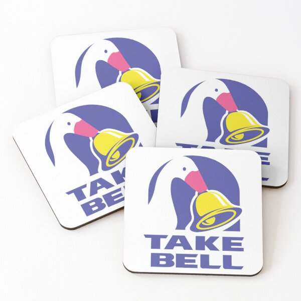 Untitled Goose Game Take Bell Coasters (Set of 4)