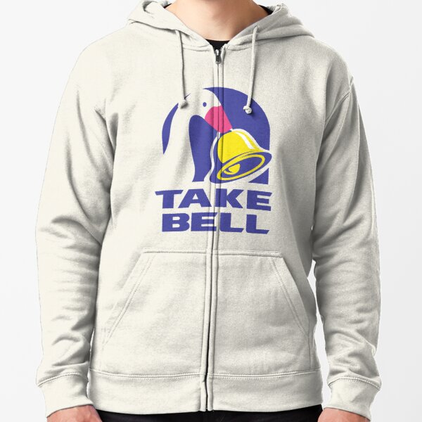 Untitled Goose Game Take Bell Zipped Hoodie