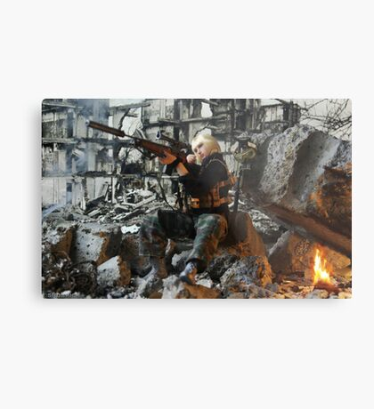 Grozny march 2005 Metal Print