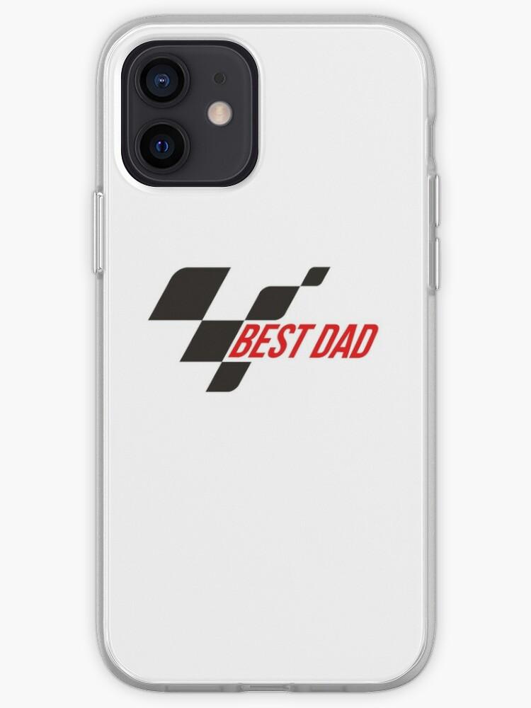 meilleur papa moto gp inspiré   Coque iPhone