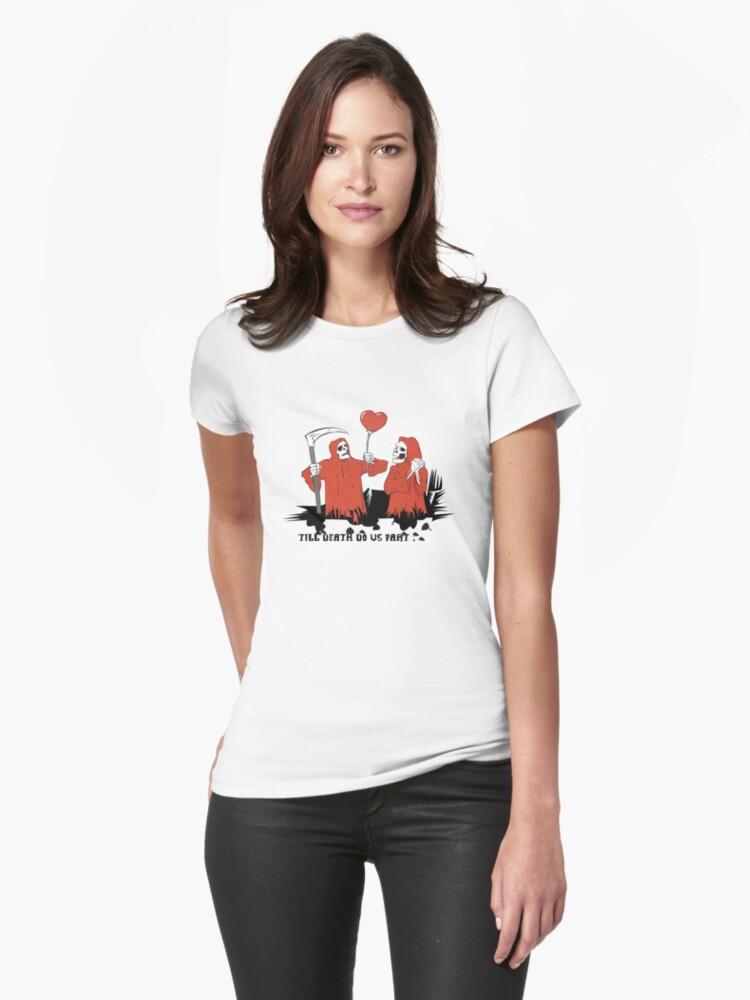 Till Death Do Us Part T-Shirt by CroDesign