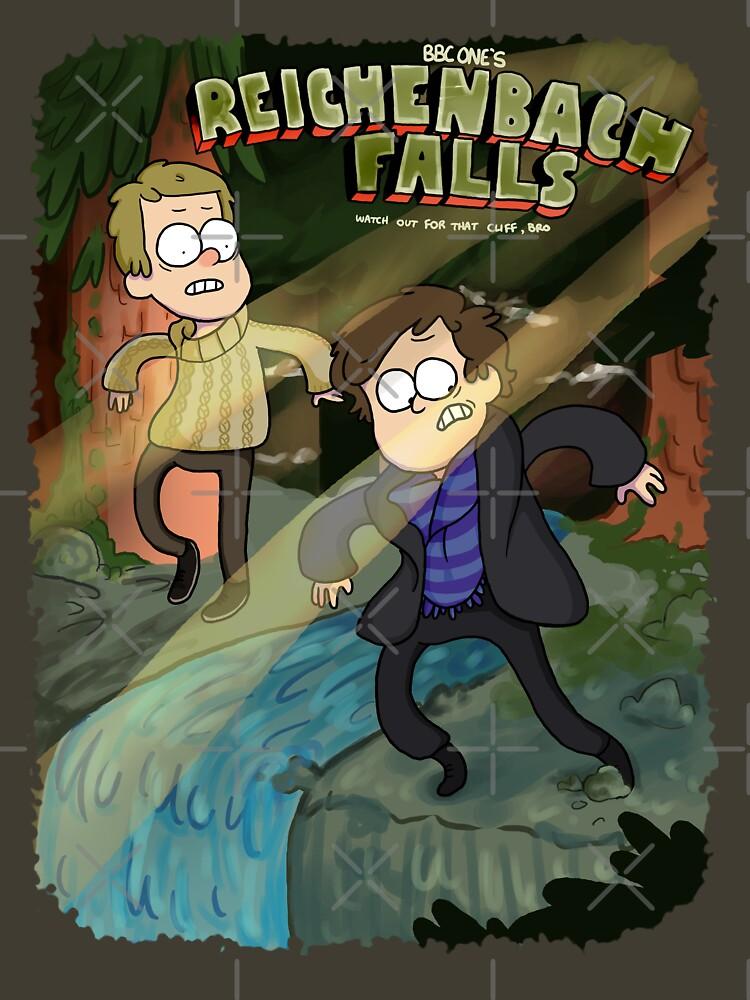 Reichenbach Falls | Unisex T-Shirt