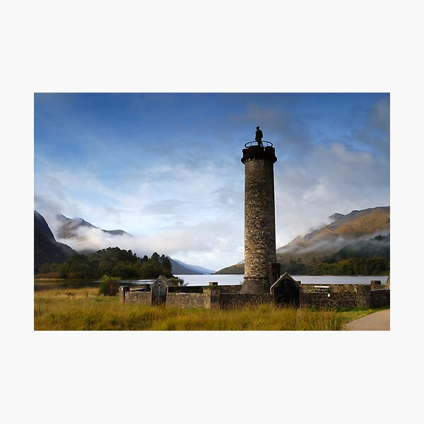Glenfinan Monument Photographic Print