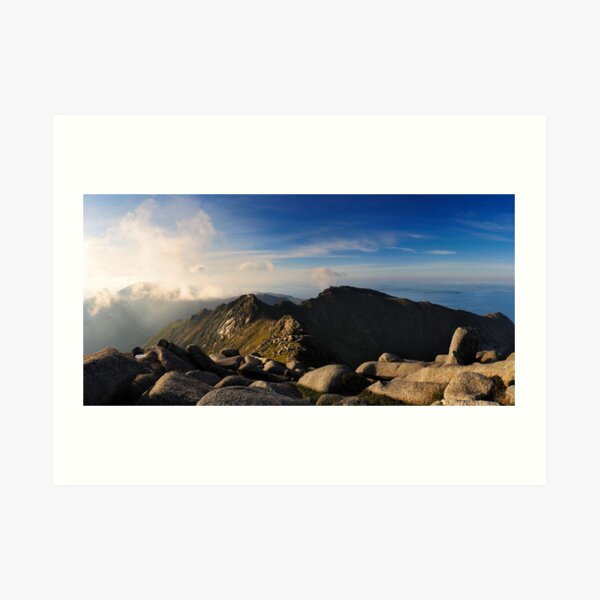 North Goatfell from Goatfell Art Print