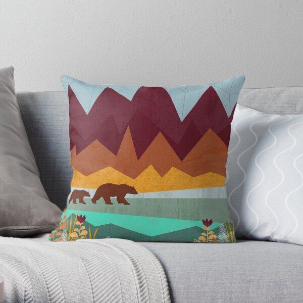Wilderness Pillows Cushions Redbubble