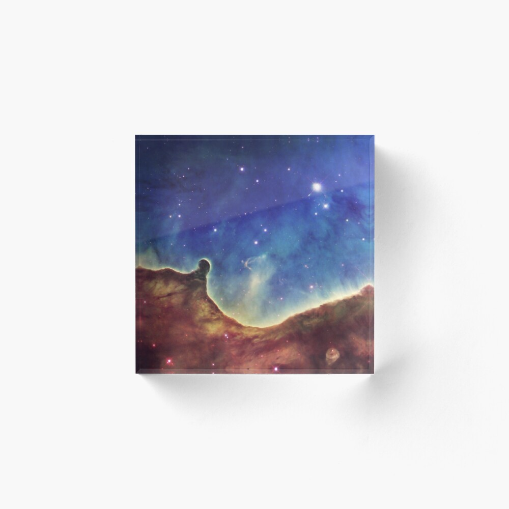Glowing Nebula Ngc 3324 Open Cluster Art Board Print By Fabsdesign Redbubble