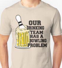 Funny Bowling Team T-Shirt T-Shirt