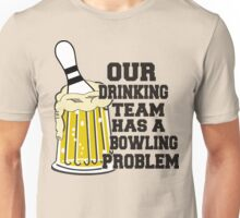 Funny Bowling Team T-Shirt Unisex T-Shirt