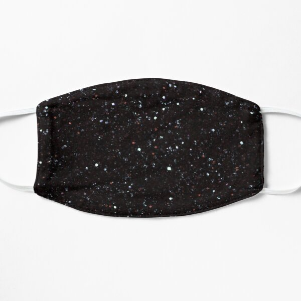 Black Glitter Edition sparkle diamond mask Small Mask