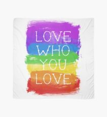 love who you love Scarf