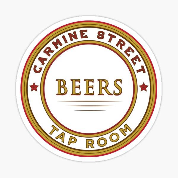 Carmine Street Beers (Front Logo) Sticker