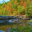 Lower Taughannock Falls by KathleenRinker
