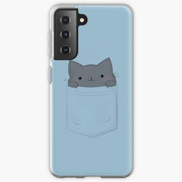 Pocket Cat Samsung Galaxy Soft Case