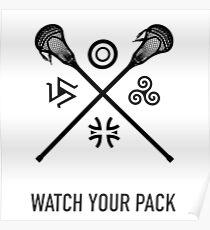 Lacrosse Teen Wolf Poster