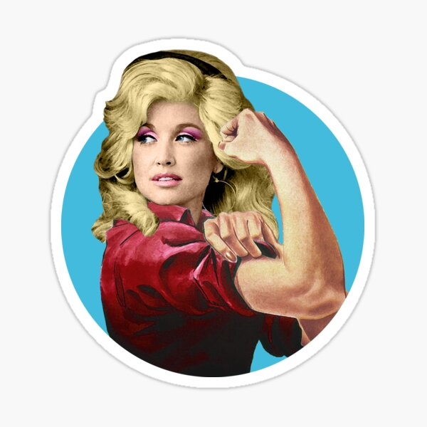 Dolly the Riveter 2 Sticker