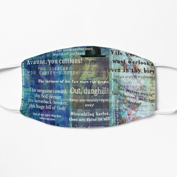 Shakespeare humorous Insults quotes Mask