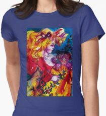 LITTLE GIRL WITH CHRISTMAS GIFTS , PRETTY DOLL AND CAT   T-Shirt