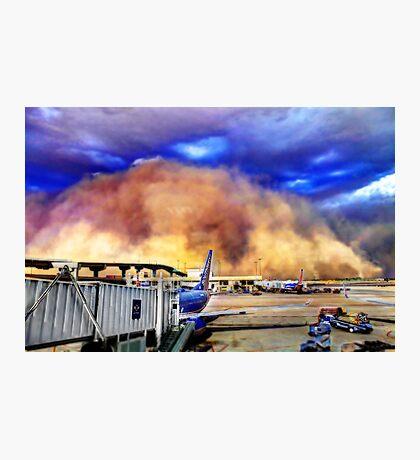 Dust Storm Photographic Print