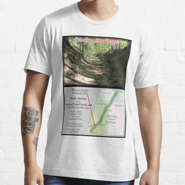 Rocky Springs on the Natchez Trace Parkway. Essential T-Shirt