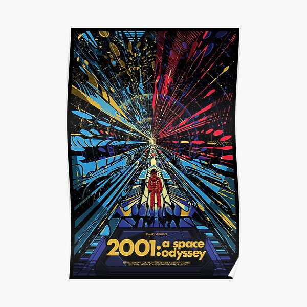 2001 A Space Odyssey Art Poster