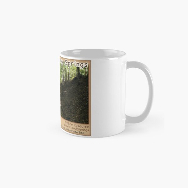 Rocky Springs on the Natchez Trace Parkway. Classic Mug