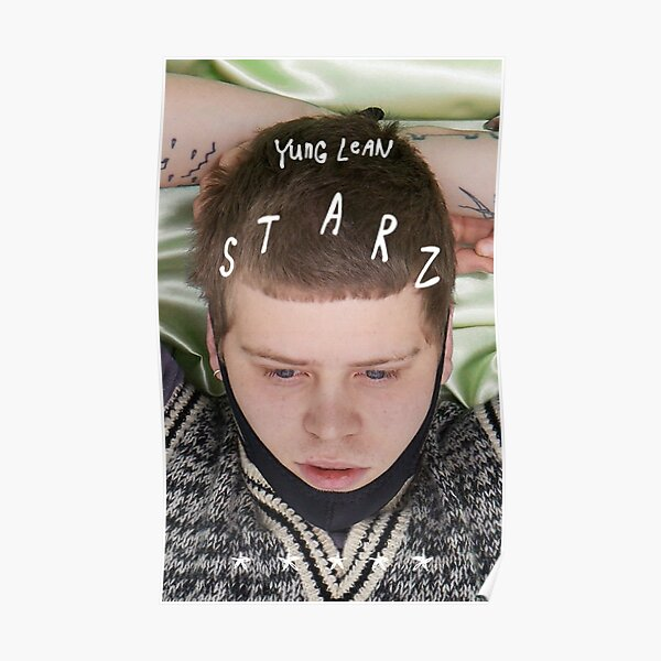 Yung Lean STARZ Album Poster