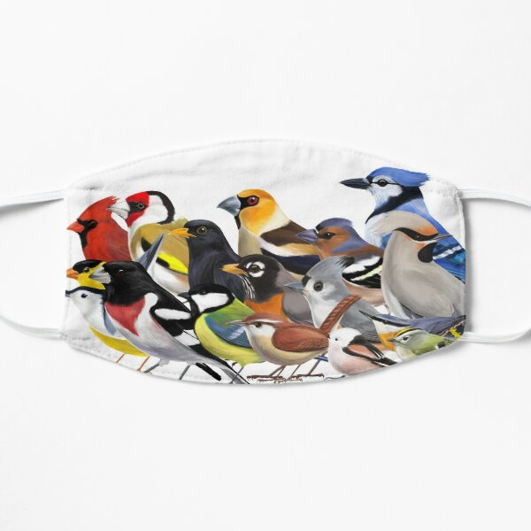 Year of the Bird - Birds of North America and Europe Flat Mask