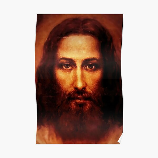 The Shroud of Turin Jesus Holy Face 201 Poster