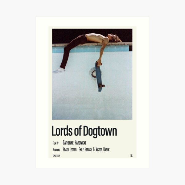 lords of dogtown Art Print