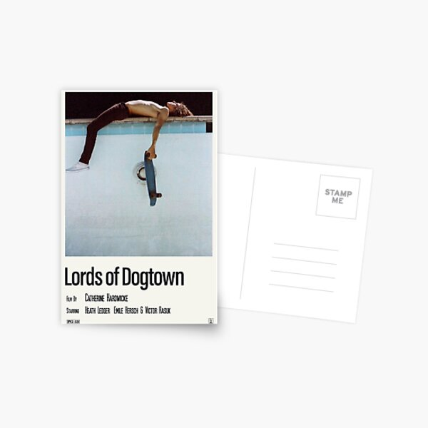 lords of dogtown Postcard