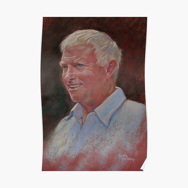 Portrait of Stewart Poster